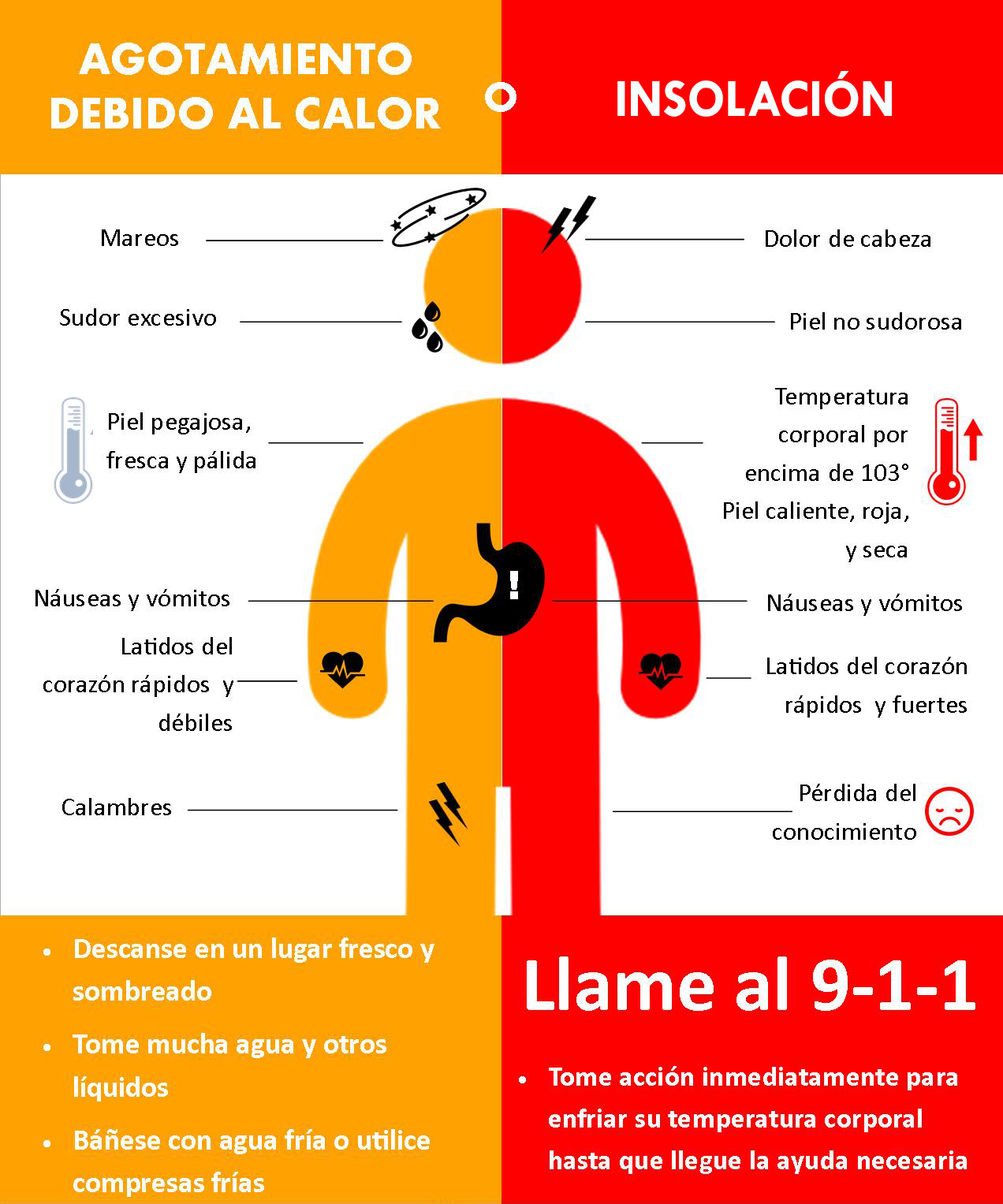 Heat Exhaustion - Espanol