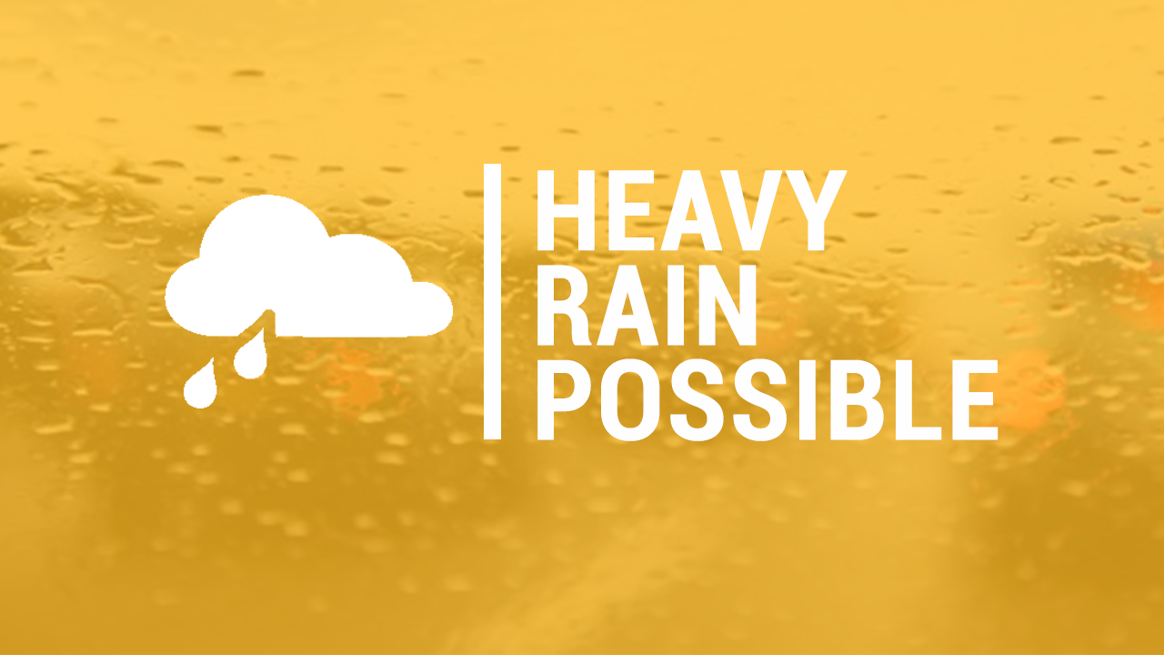 Heavy Rain Possible